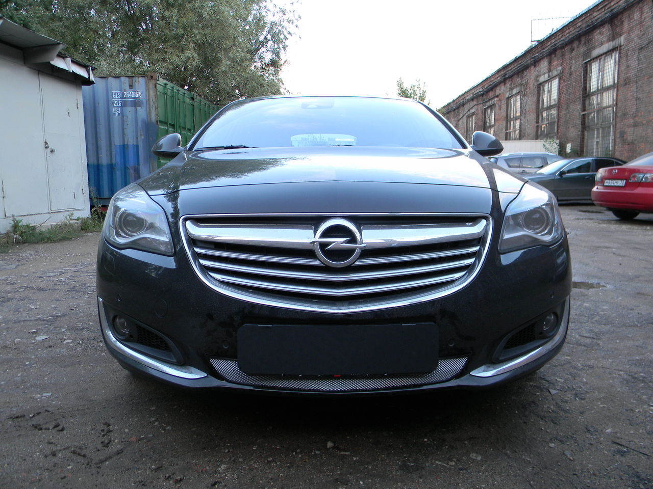 Защита радиатора Opel Insignia 2014- chrome