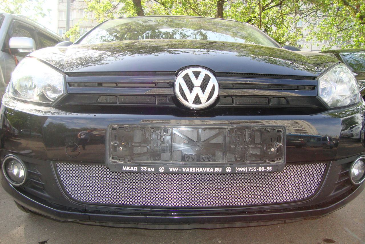 Защита радиатора Volkswagen Golf VI chrome