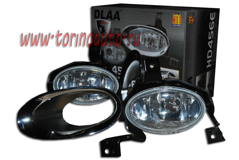 Фара противотуманная DLAA HD456E HONDA-CR-V (вып, после 2009г) без электроп